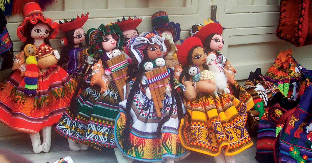 Embroidered Dolls and The Dolls of Peru