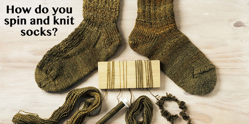 No More Excuses: Cast On a Pair of Handspun Socks
