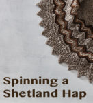 Spinning A Shetland Hap