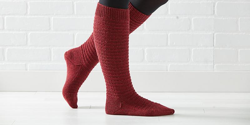 A Trio of Knitted Socks from <em>Weldon's</em>