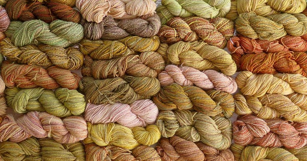 Adventures in Natural Dyeing: The Outback Afghan Project