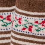Weldon's Mystery Project: Double-Knitted Heels