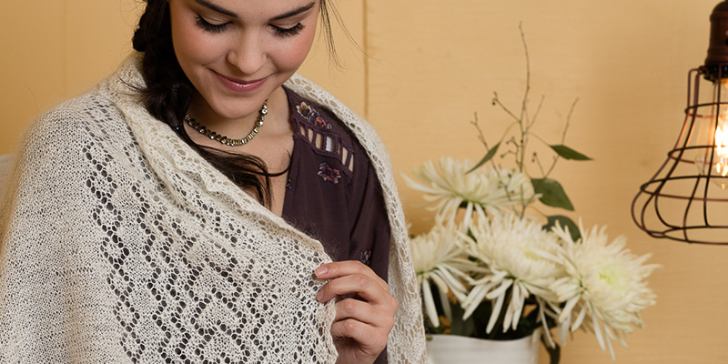 A Tale of Orenburg Lace: Valentina's Polushawl