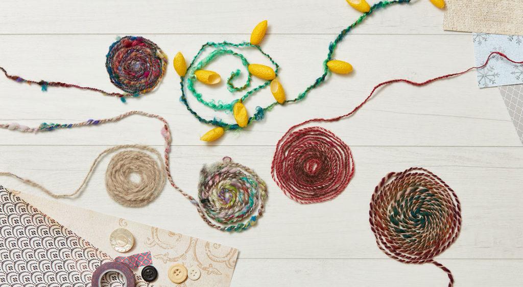Your Yarns: Spin Scrap Yarn