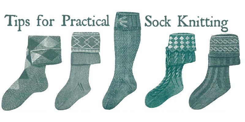 Knit a Pair of Victorian-Era Socks
