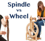 Learning How to Spin Yarn: Spindle vs Wheel