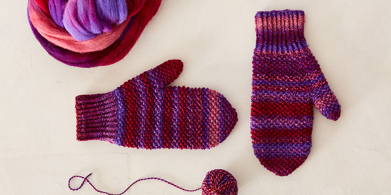 Handspun Mittens From the Mitten State
