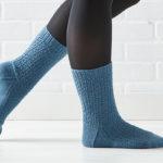 A Pair of Timeless Railway-Stitch Socks from <em>Weldon's</em>
