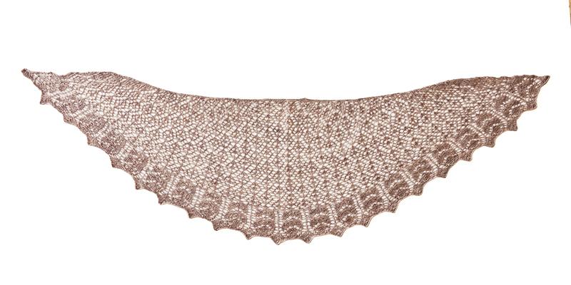 A Shawl Based on a <em>Weldon's</em> Veil Pattern to Knit