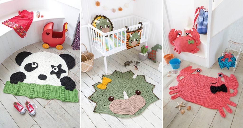 Crochet Décor That Kids Will Adore