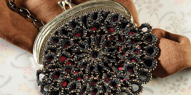A Victorian Purse in Tatting and Beads