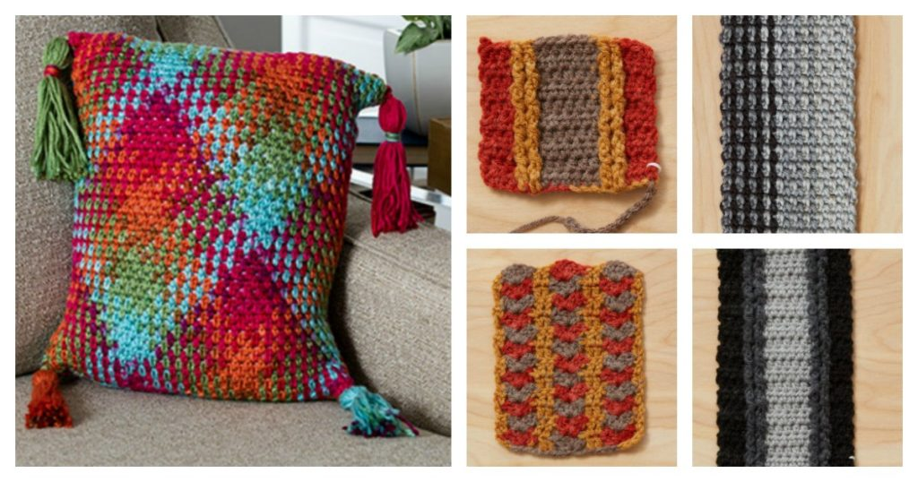 Tame Your Skein with Color Pooling Crochet