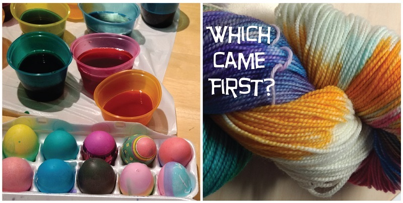 WIP: Which Came First—the Eggs or the Yarn?