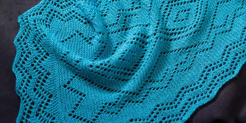 Knitting Orenburg and Santa Fe Together