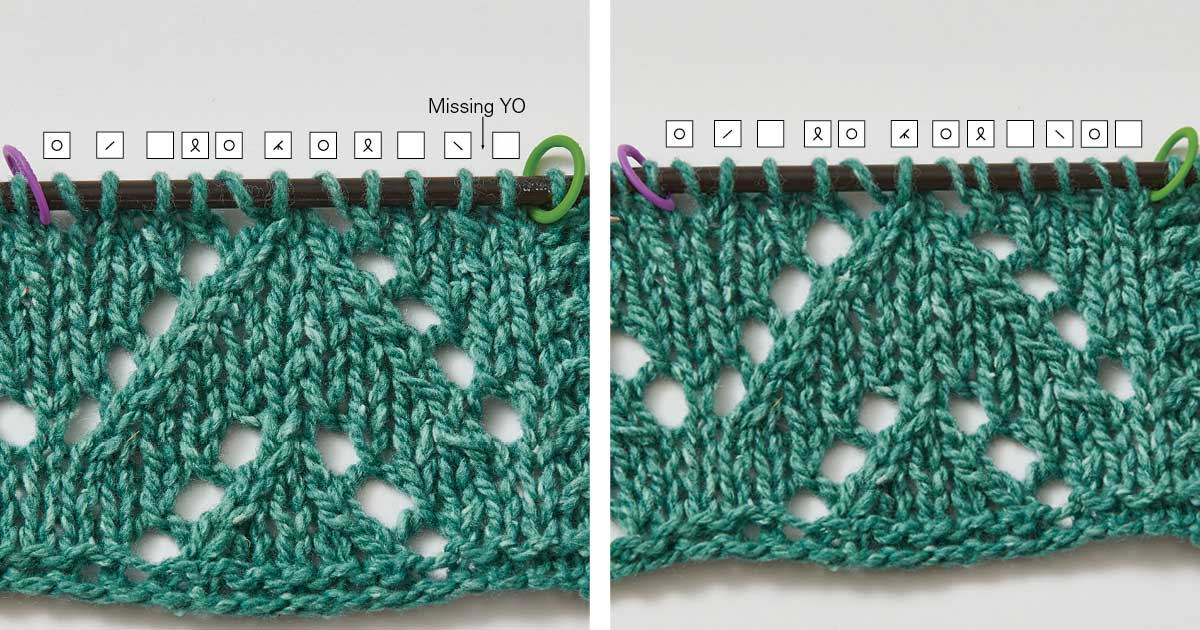 A Knitter's Guide To: Fixing Common Mistakes in Lace Knitting