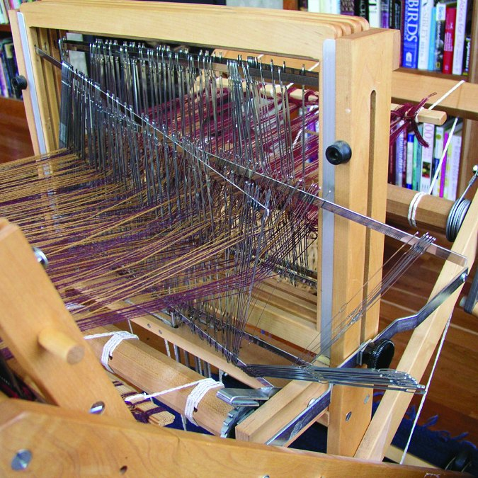 Oops! Not enough heddles on shaft 4!