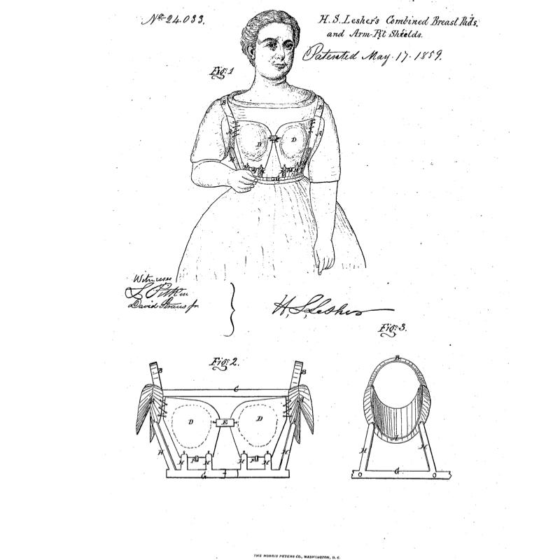 "HenryLesher: Caption: The goal of Henry Lesher's 1859 patent was ""symmetrical rotundity."" Illustration courtesy of the United States Patent Office."