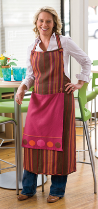Elisabeth Hill's Chocolate Chef's Apron