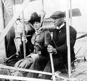Edith Berg and Wilbur Wright