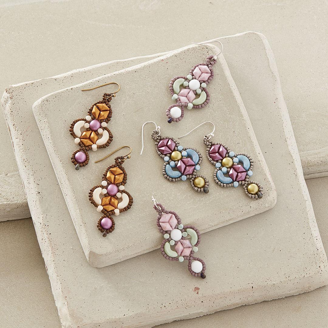 Debra Hodoyer's Arabeque Earrings