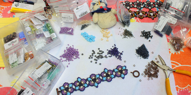 Beading in the Living Room with Debora Hodoyer
