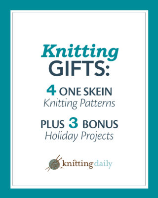 Holiday Knitting Ebook 7 Free Knitted Projects Interweave