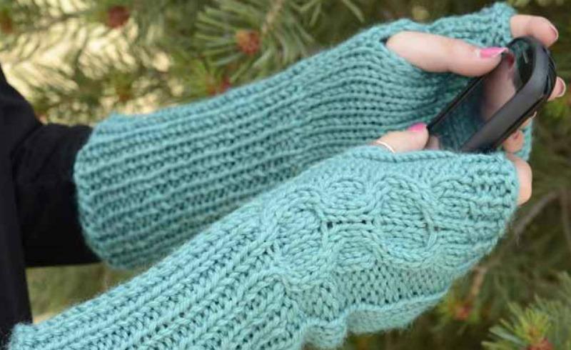 Holiday Honeycomb: Free Knitting Pattern