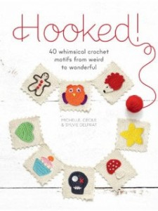 Hooked! Crochet Applique Book