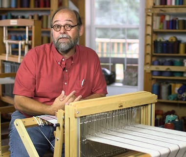 Learn how to weave with expert Tom Knisely.