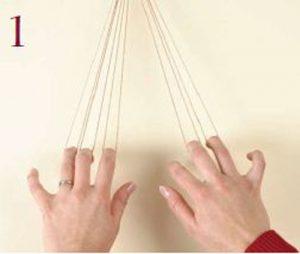 Loop-Manipulated Braids Step 1