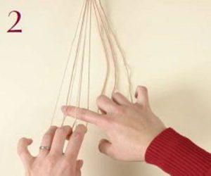 Loop-Manipulated Braids Step 2