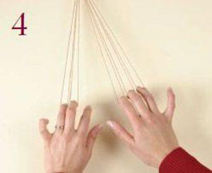 Loop-Manipulated Braids Step 4