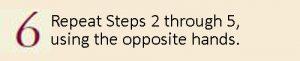 Loop-Manipulated Braids Step 6