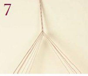 Loop-Manipulated Braids Step 7