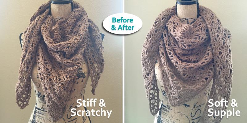 Crochet Class: How to Soften Yarn
