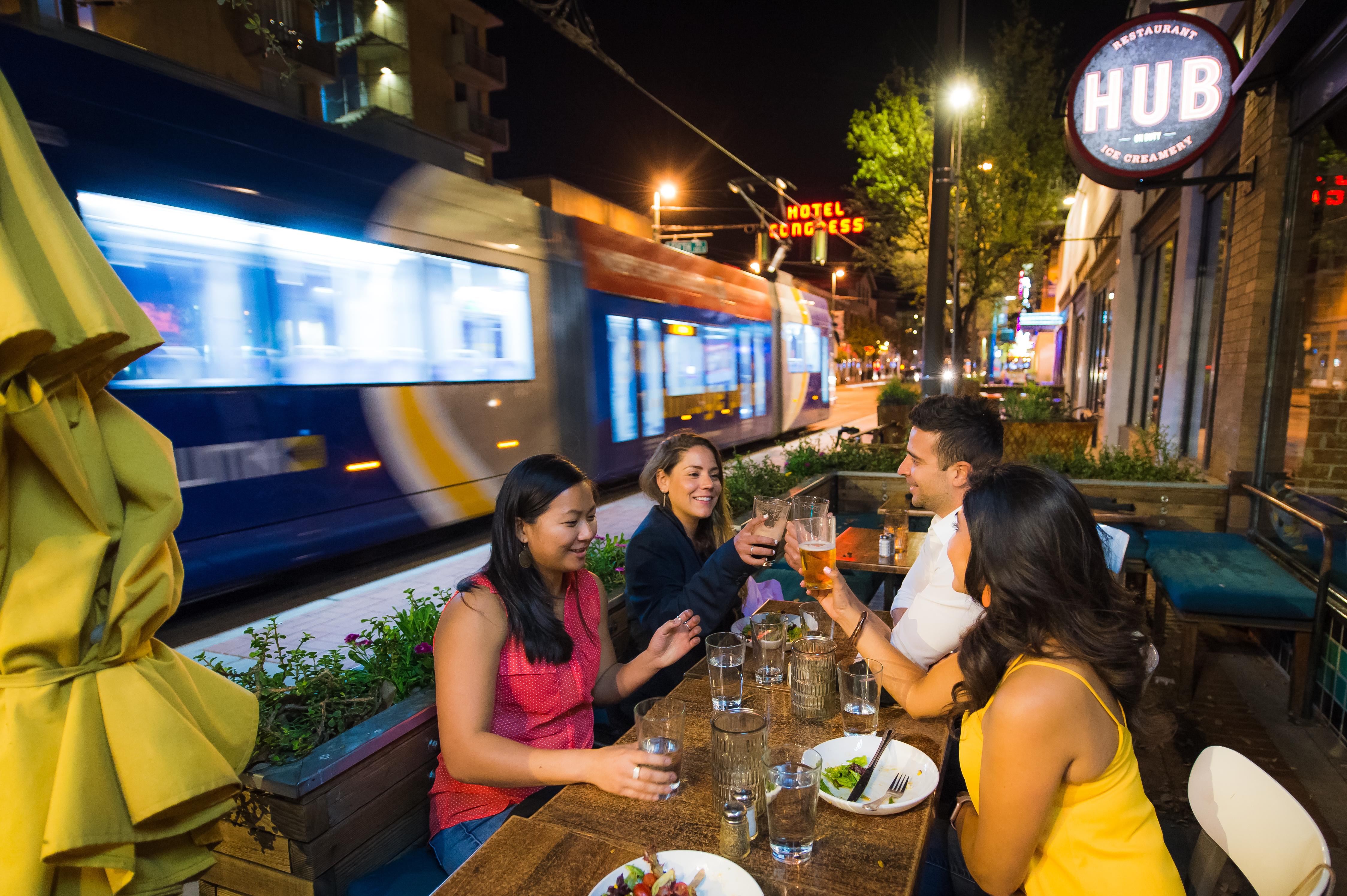 Hub dining, Photo courtesy Visit Tucson.