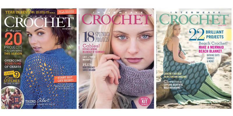 The Page Turns at Interweave Crochet