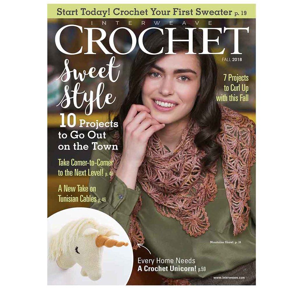 You'll love all the projects in Interweave Crochet Fall 2018! | Photo Credit: Harper Point Photography and George Boe