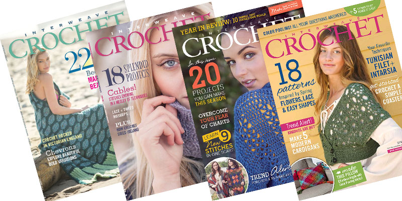 5 Big Reasons to Subscribe to Interweave Crochet