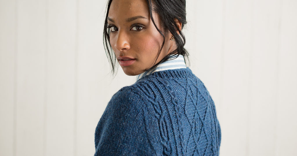 A Sneak Peek: Knitted Cables and More for Fall!