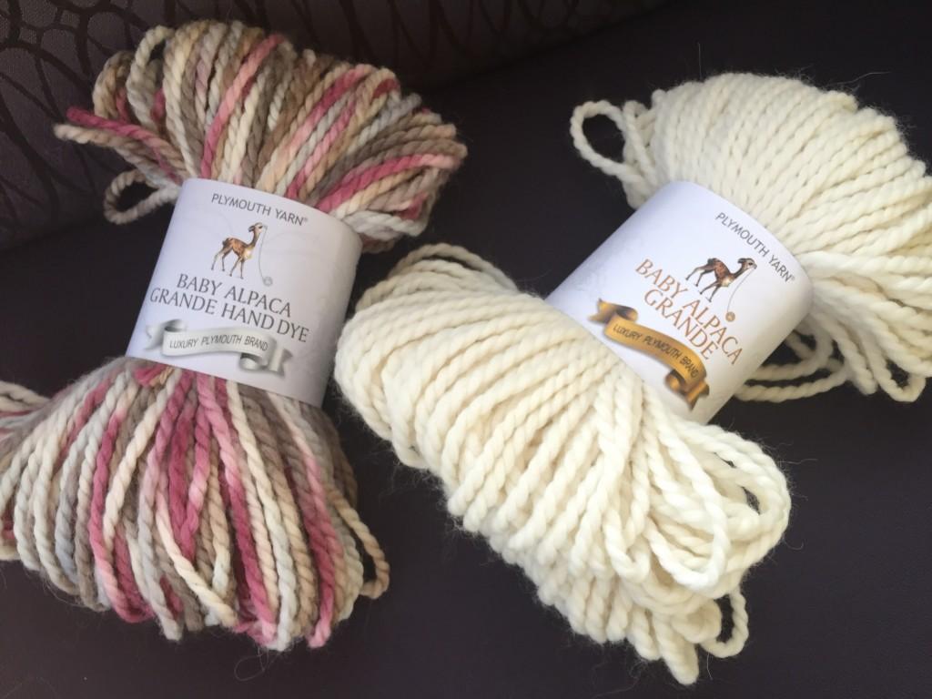 chunky yarn alpaca