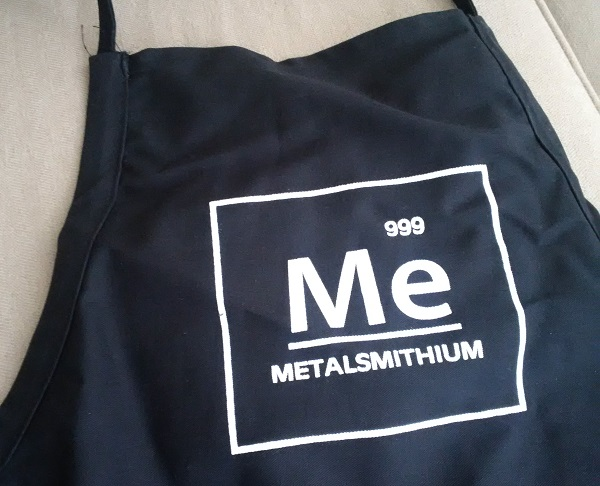 Metalsmithium apron from Danny Wade and Ferro Valley Tools