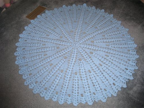 Funky Free Round Baby Blanket Crochet Patterns Composition Easy