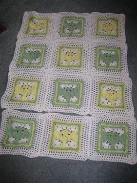 Elephant Baby Shower Crochet Pattern Valentine's Day Love Nap / Baby Blanket  Pattern + Free Blanket Pattern – Yarn Crochet Garden | 375x281