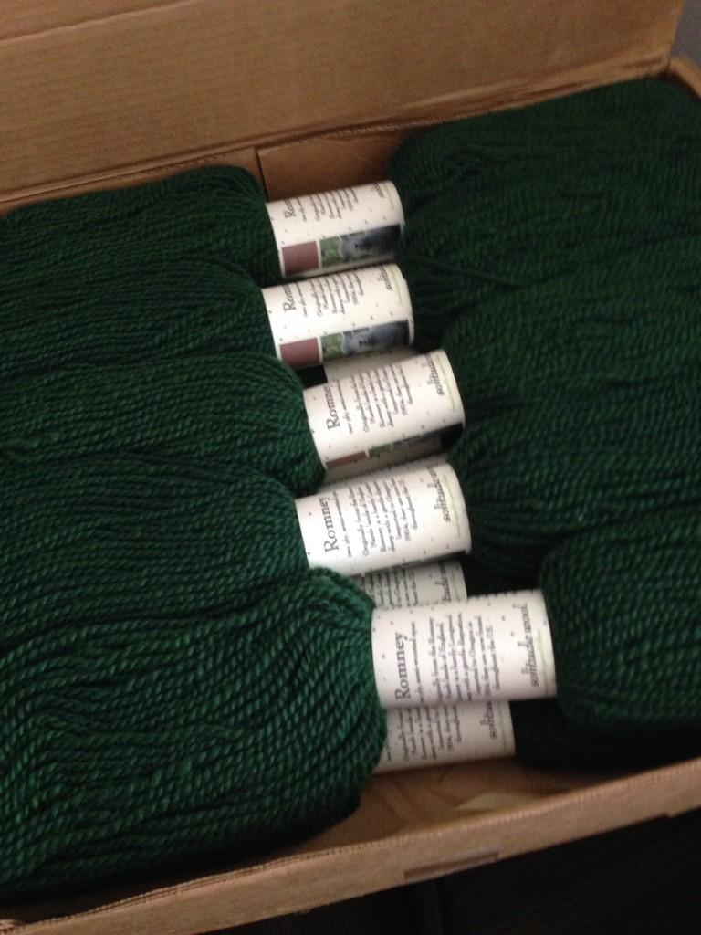 Solitude Jacket yarn