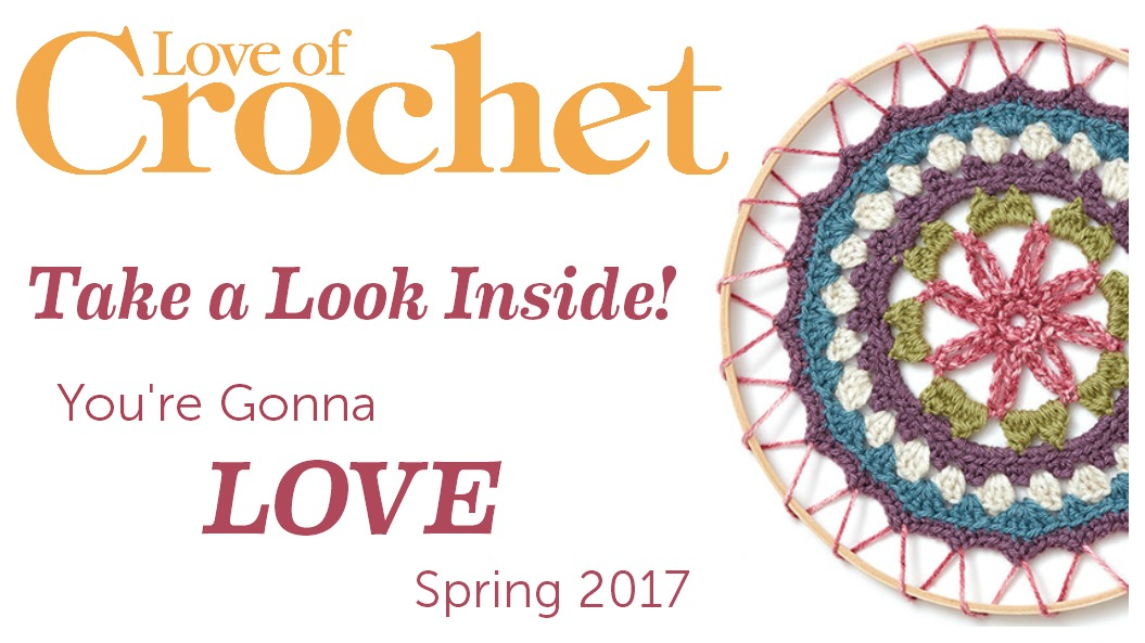 Meditations on the Mandala Love of Crochet Spring 2017