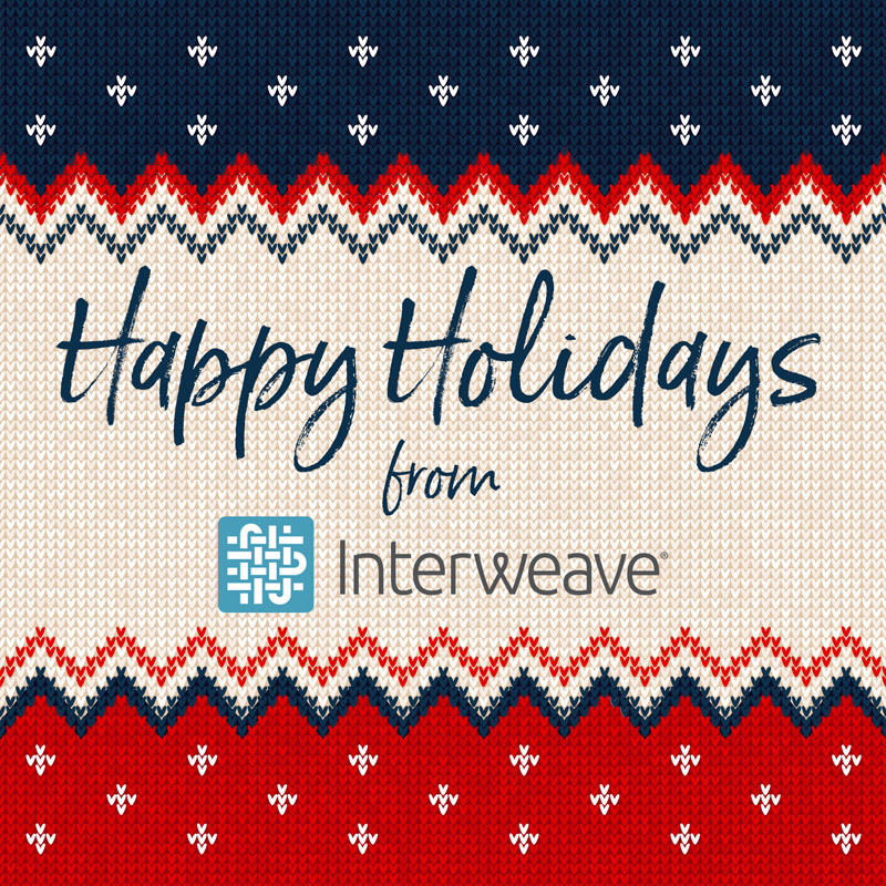 Happy Holidays from Interweave!