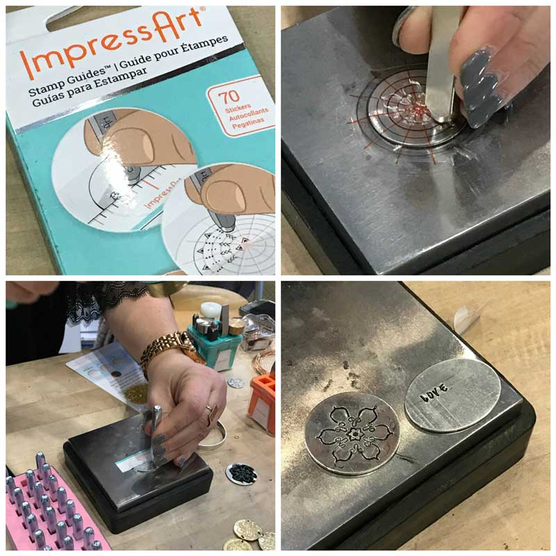 Jewelry-Making and Beading Supplies, Fun Finds, and Adventures From the Road. ImpressArt stamping supplies.