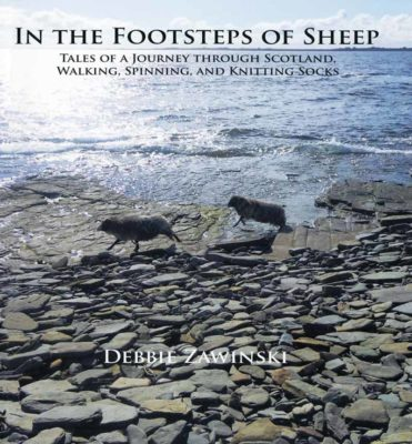 Zawinski, Debbie. In the Footsteps of Sheep: Tales of a Journey Through Scotland, Walking, Spinning, and Knitting Socks. Pittsville, Wisconsin: Schoolhouse Press, 2015.  Link