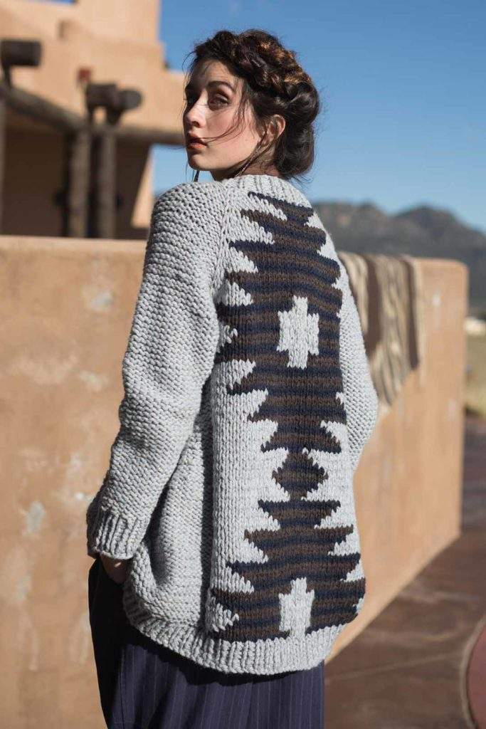 The Indigo Trader Cardigan is the perfect armor against Women's Winter.